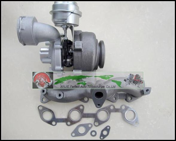 Turbo For For AUDI A3 TDI VW JETTA GOLF V PASSAT Touran TDI 2003- BKD AZV BKP 2.0L TDI 140HP GT1749V 724930 724930-5009S Turbocharger with gaskets (3)