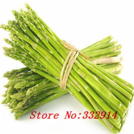 Venda! Frete Grátis 100 Mary Washington Espargos Sementes - as sementes de vegetais mais saudáveis, deliciosa planta perene nutritiva