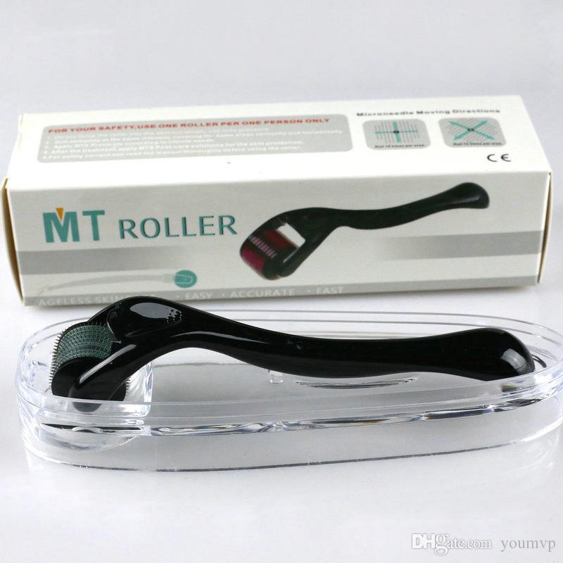 MT DERMAROLLER 540 Microneedles Derma Roller, Skin Dermaroller 0,2mm-3.0mm Hud Acne Therapy System för hudföryngring