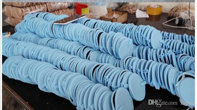 par DHL 85mm électrodes en caoutchouc musculaire de physiothérapie ronde tampons pour machine de perte de poids ems