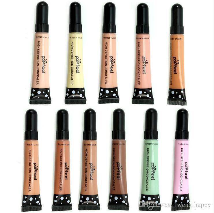 Base Maquillage Full Cover Haute définition Primer Concealer Crème / Couvrir les taches de rousseur acné tatouage fond d'écran noir hydratant