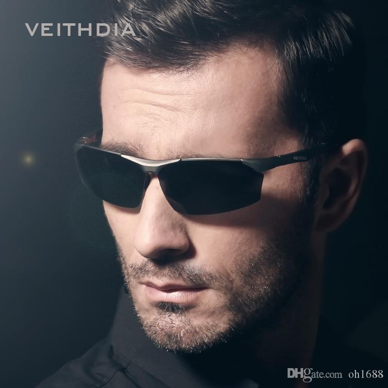 Aluminum Magnesium Brand Polarizerd Mens Sunglasses Sport Sun Glass Driving Mirror Eyewear for Men Male oculos masculino 6576