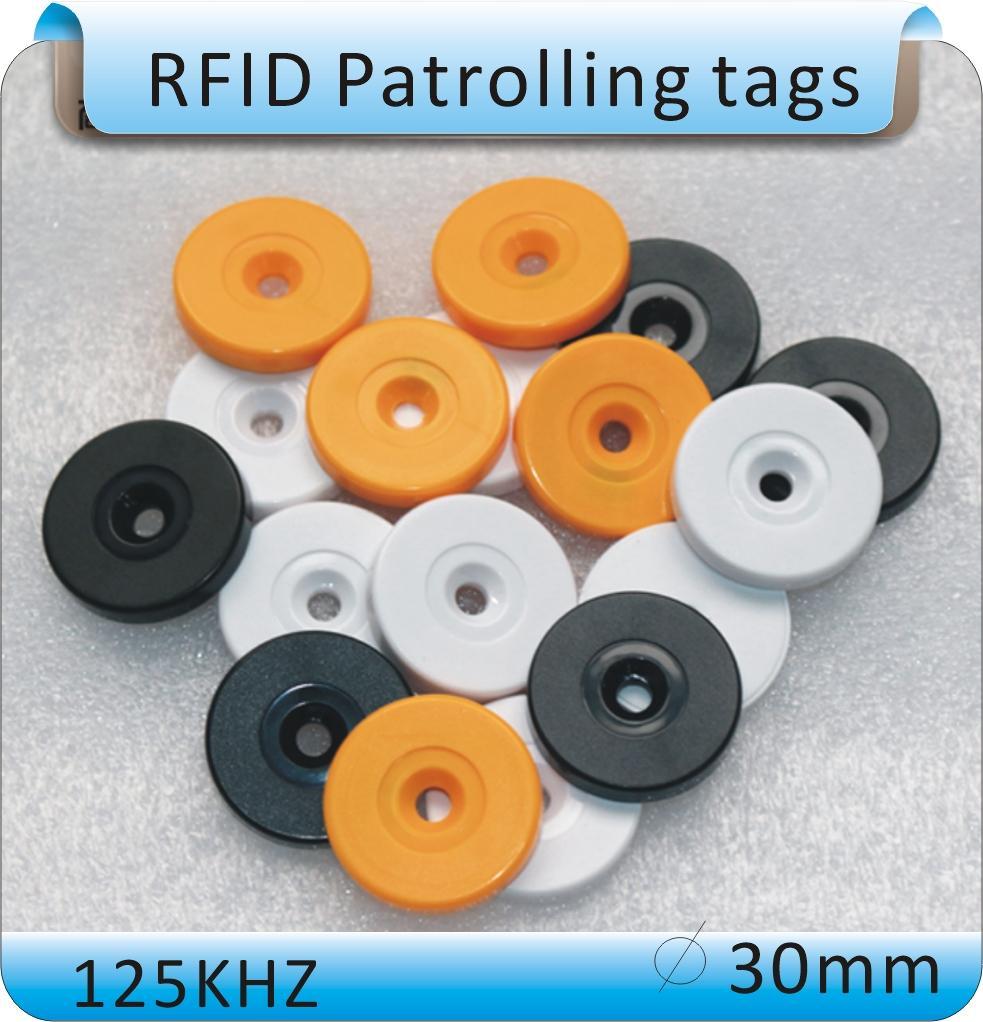 Fornecimento preferencial a longo prazo 125KZ frequência de operação cartão RFID chaveiro cartão de controle de acesso cartão azul anti-wrestling