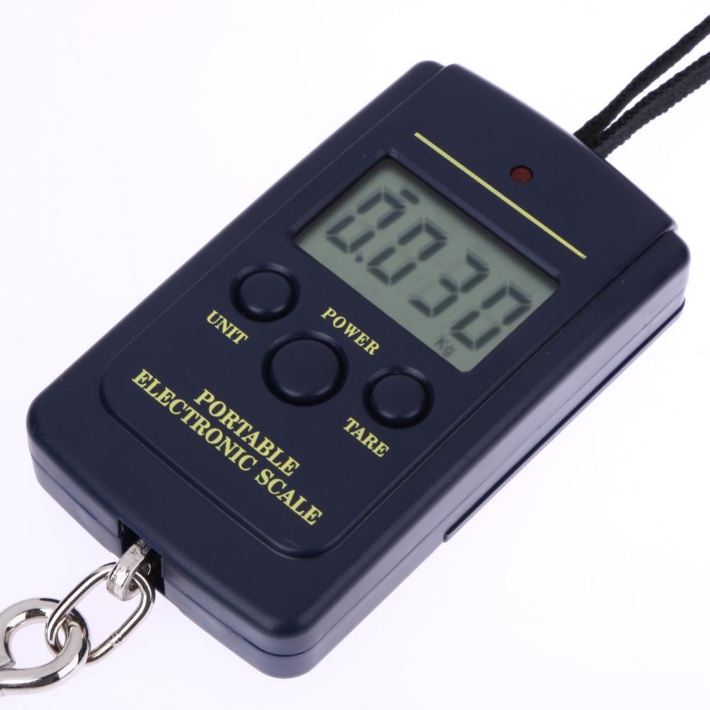 40 kg / 10g Taşınabilir Mini Elektronik Dijital Asma Ölçeği Bagaj Balanca Dijital Handy Cep Ağırlık Kanca Ölçeği