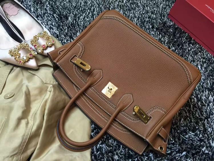 2016 Luxury H Handbag Women\`s Litchi Cowhide Messenger Bag Genuine Leather Famous Designer Shoulder Crossbody Totes Ladies Bolsa (38)