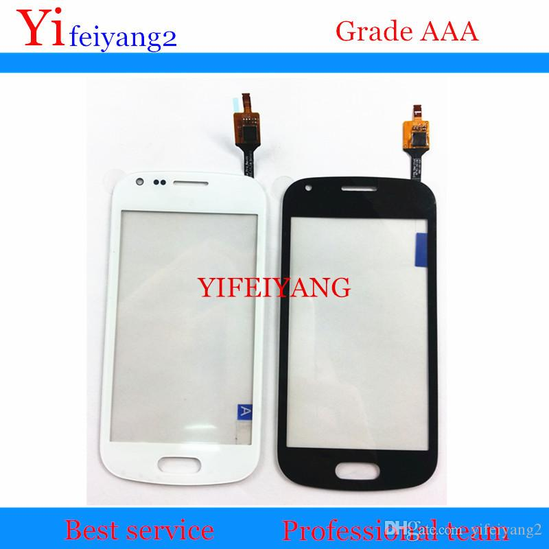 30PCS BEST OEM 100% Test touch screen digitizer panel glass replacement For samsung Galaxy Trend Duos 2 S7582 S7580 by DHL EMS