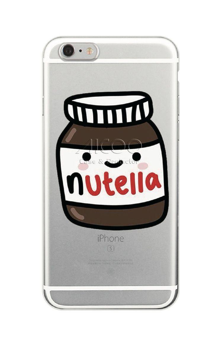 Nutella Wallpaper Kawaii Cute Cell Phone Case Soft Tpu Cover For Iphone X 8 7 6s Plus Samsung S9 S8 Plus S7 S6 Edge A5 J5 Opp Bag Aicoo Cute Phone