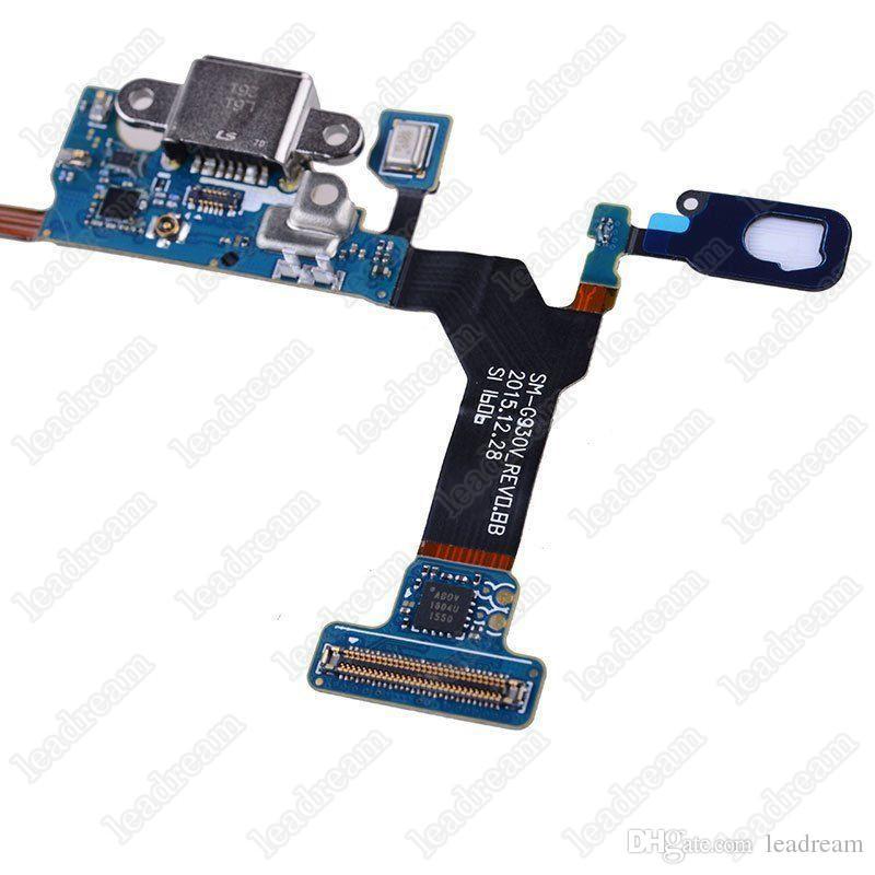 50 PCS Cellulaire Flex Câbles OEM Charge Chargeur Dock Port USB Flex Câble Pour Samsung s7 DHL