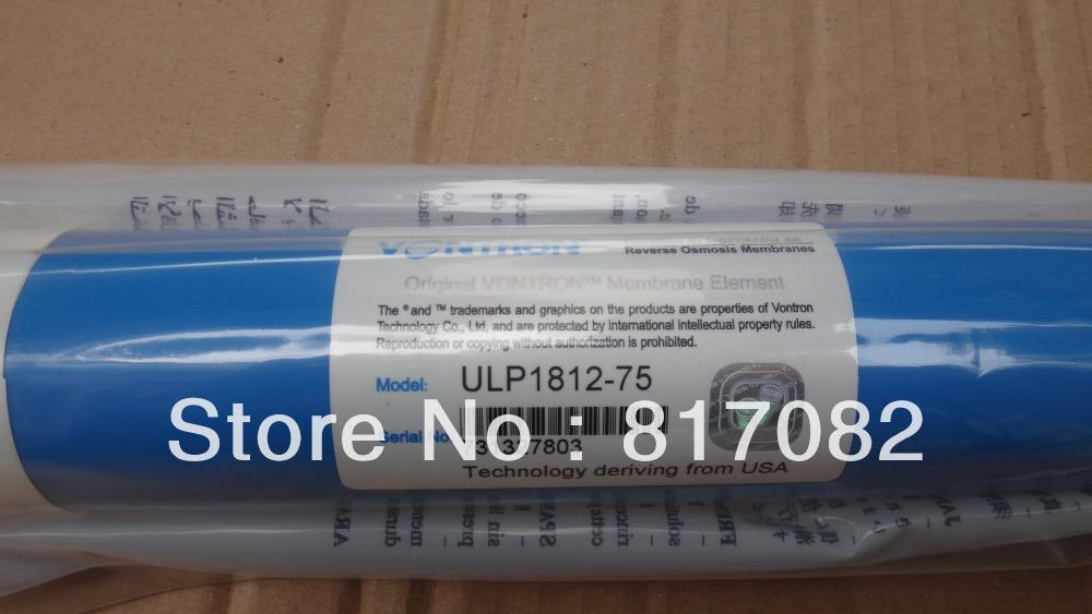 Tüm satış 25 adet Vontron ULP1812-75 Konut Su Filtresi RO membran NSF Kalite Mükemmel