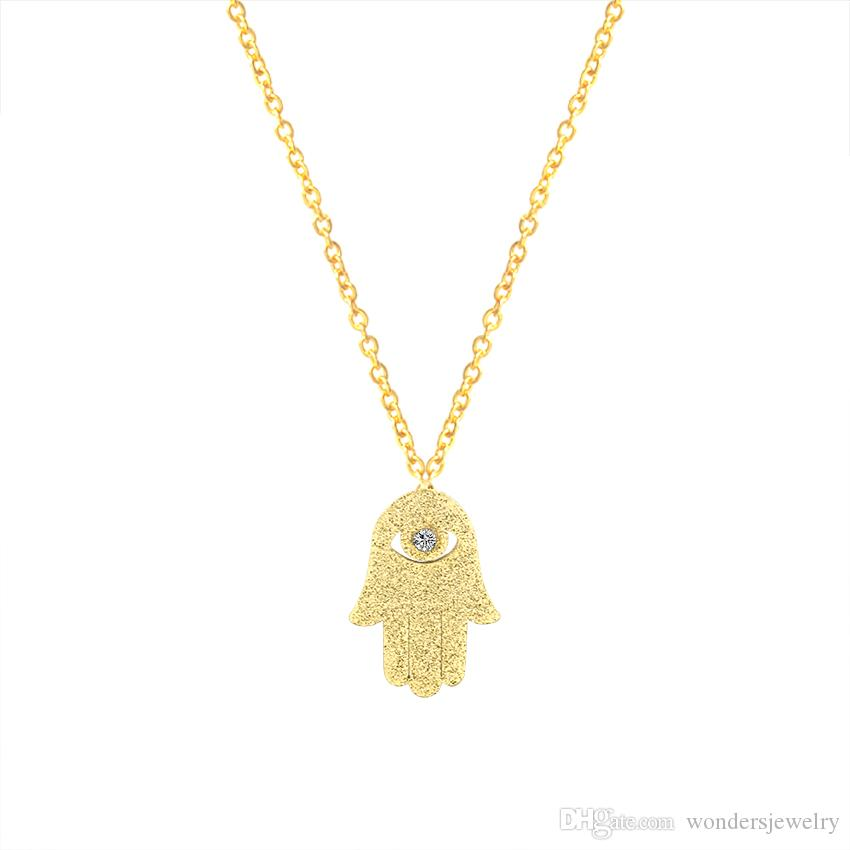 Wholesale wholesale new 2017 birthday gifts hamsa hand choker wholesale new 2017 birthday gifts hamsa hand choker necklaces men women stainless steel jewelry pendant evil aloadofball Image collections