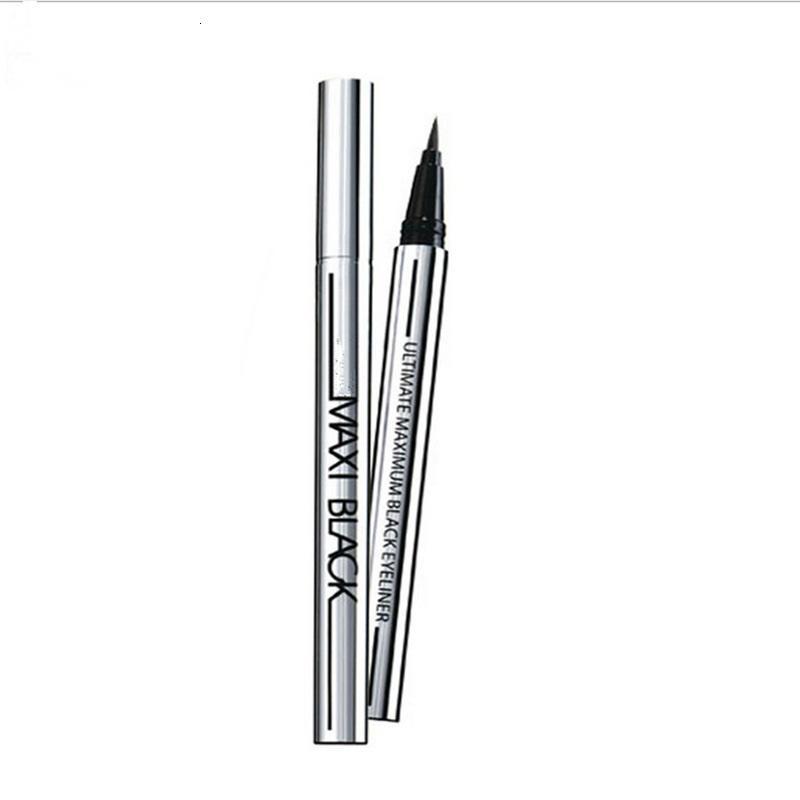 Neue Mode Frauen Mädchen Schönheit Makeup Eyeliner Eyeliner Wasserdicht Extremer schwarzer flüssiger Stift einfach, lang anhaltend auf Lager zu tragen