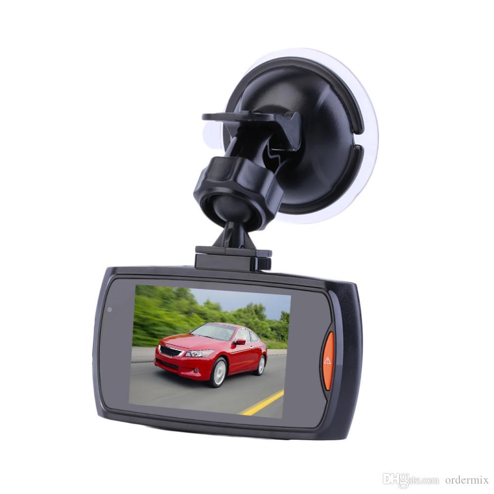 """Cámara del automóvil G30 2.4 """"Full HD 1080P Grabador de video DVR para el automóvil Dash Cam 120 grados Gran Angular Detección de movimiento Visión nocturna G-Sensor"""
