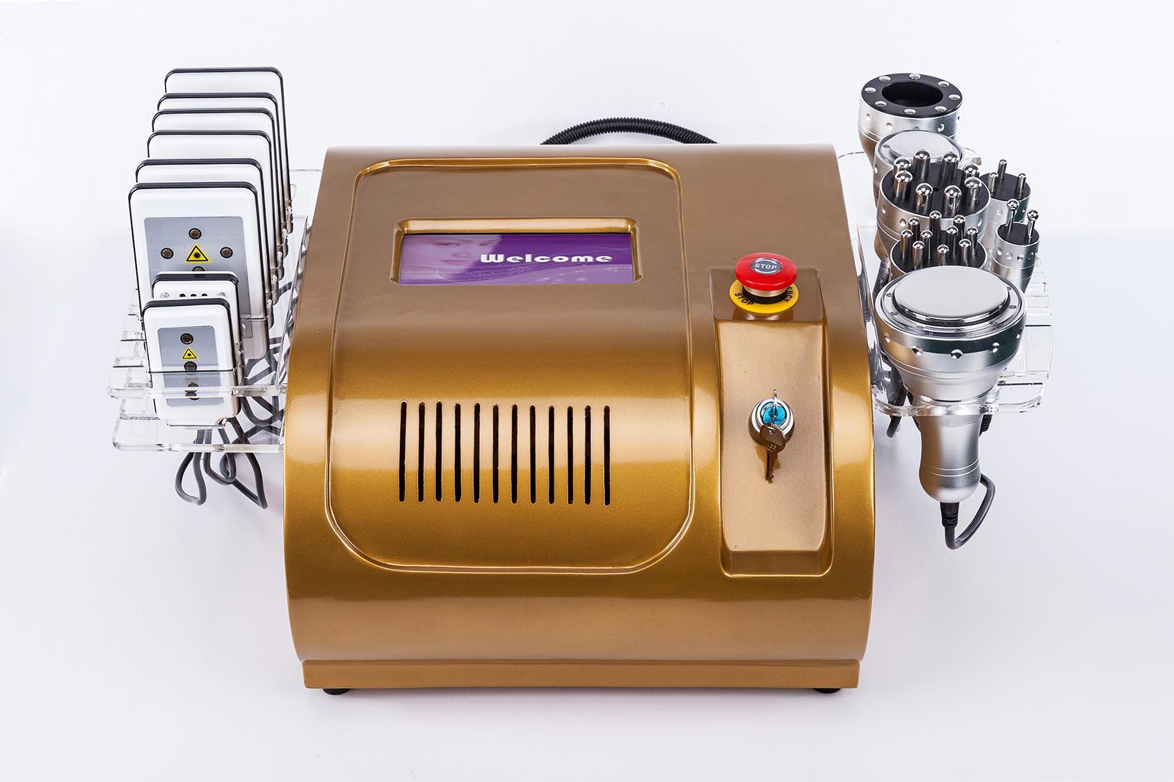 초음파 cavitation 진공 레이저 다극 RF 셀 룰 라이트 슬리밍 기계