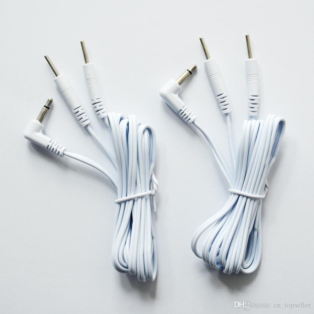 Tens Lead Wires - 3.5mm plug to Two 2mm للموصلات دبوس