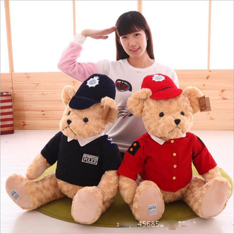 2017 New Kawaii Teddy Bears Plush Soft Toys Pearl Velvet Teddy Dolls For Children Girlfriend Gifts Wedding Gifts