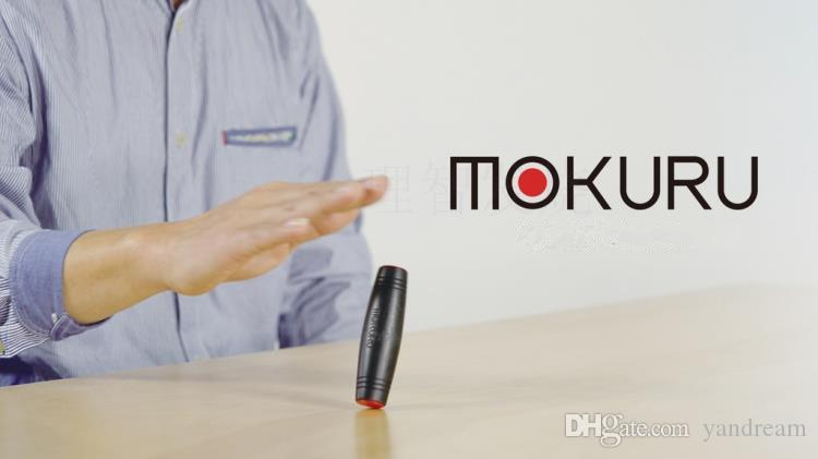2017 The New MOKURU Fidget Rollver Wooden Stick Desktop Toy Anti Stress Game Rollover Bar Spinner Decompresses Novelty Toys Free shipping