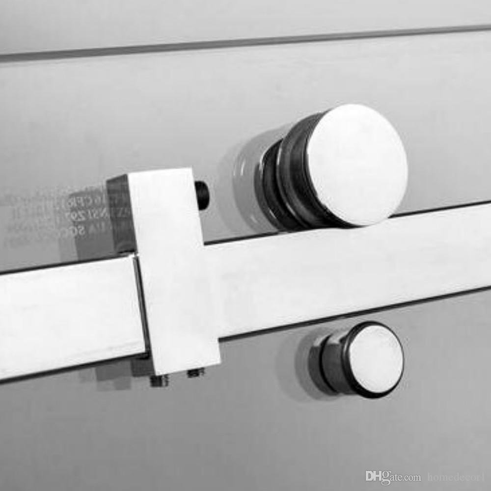 (США Горячий Продавать) 5FT Щеткой Обход из нержавеющей стали декор раздвижные душ сарай дверной фурнитуры душевая комната