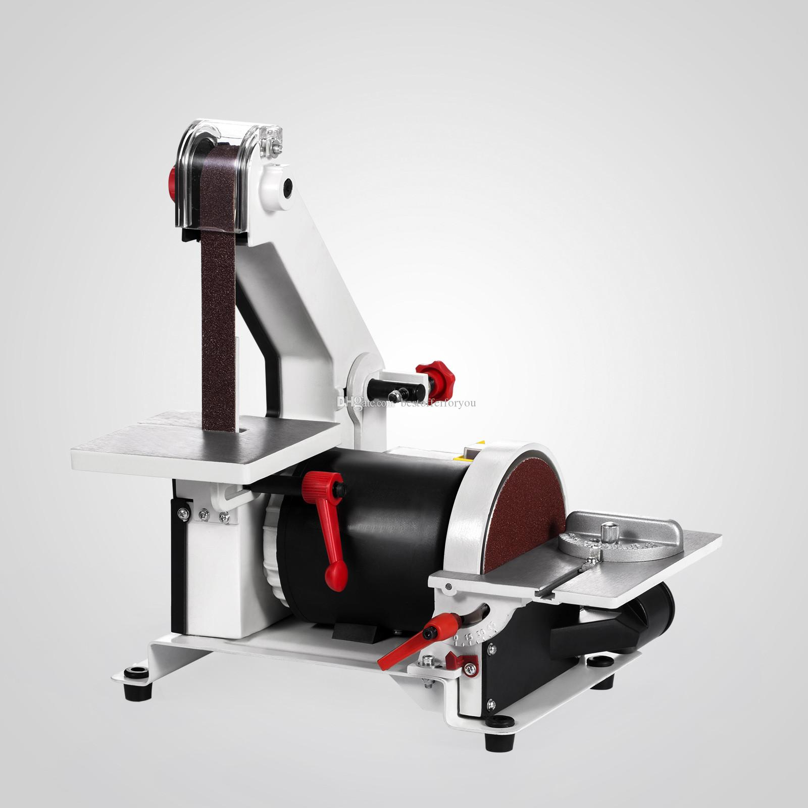 """الحزام الرملي العملي """"1 × 30"""" يعمل بسرعة 13.5 متر / ثانية مطحنة PHEER GRANDER ذات قرص متغيرة السرعة ، حزام السنفرة ساندر باليد"""