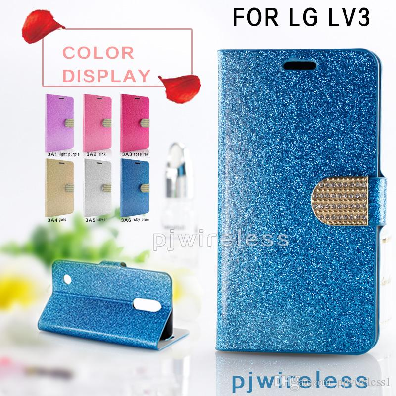 timeless design 3fafa 1847a Diamond Wallet Case For Alcatel A30 Fierce Metropcs For ZTE Blade Z Max  Metropcs ZMax Pro 2 Z982 LG V30 Glitter Bling Rhinestone Make Your Own Cell  ...
