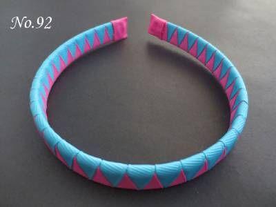 20pcs gute Segen-Mädchen-Art- und Weisehandwerk A - gewebtes Stirnband 5 Art 184 keine. Kinder-Haar-Zusätze nettes Headwear freies Verschiffen