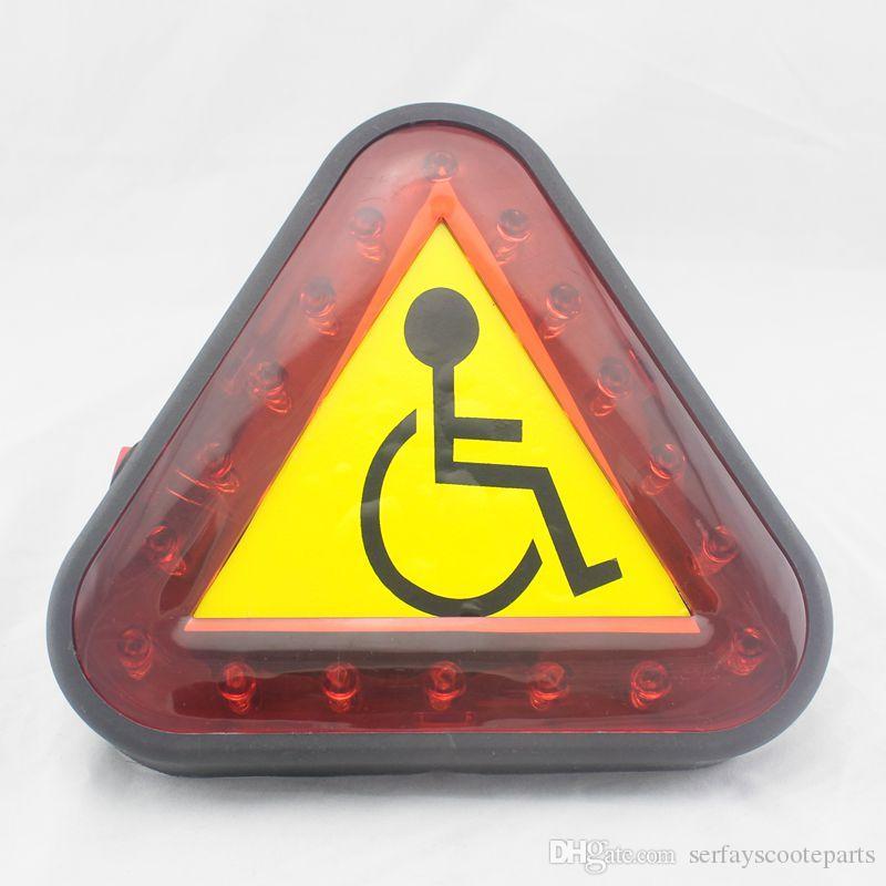 Elektrorollstuhl Warnlicht Mobilität Roller Lichtwarnlicht für Scooter Warn