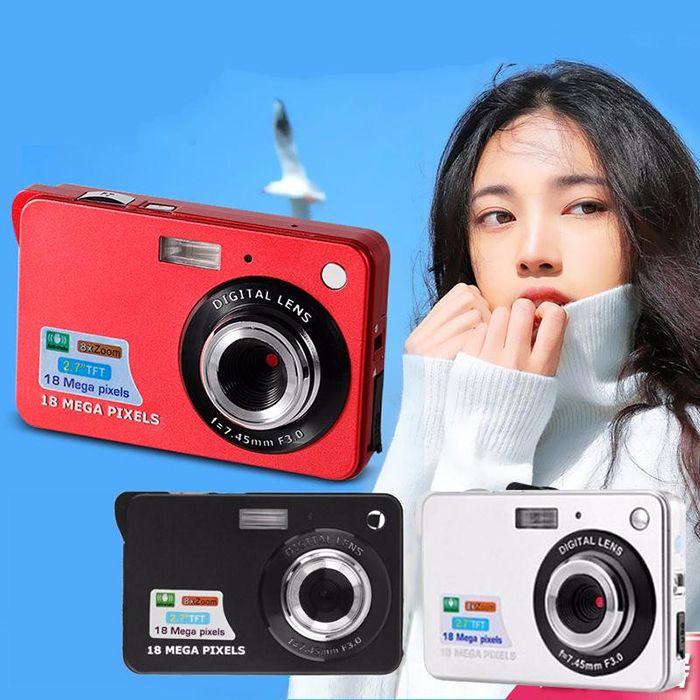 "Cheap High Quality 10x HD Digital Camera 18MP 2.7"" TFT 4X Zoom Smile Capture Anti-shake Video Camcorder DC530 Alishow 4-DV"