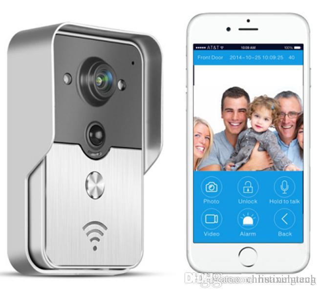 Wifi Türtelefon Türklingel Guckloch Kamera Wireless Intercom für Android IOS PDA