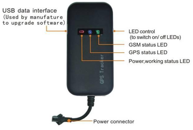 4 группа автомобильный GPS трекер GT02A бесплатная платформа реальный адрес ссылки Google для Android iPhone приложение