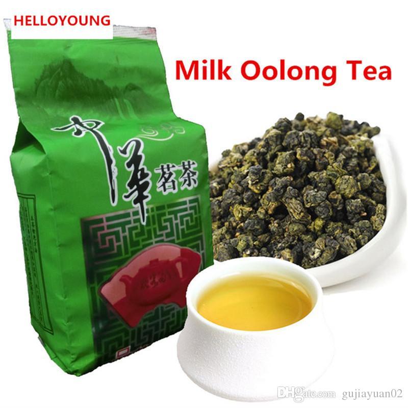 Promotion 50г Рекомендуемые Молочный Улун высокого качества Tieguanyin зеленый чай Молочный Улун Улучшенный Health Care New Spring Green Tea Foo