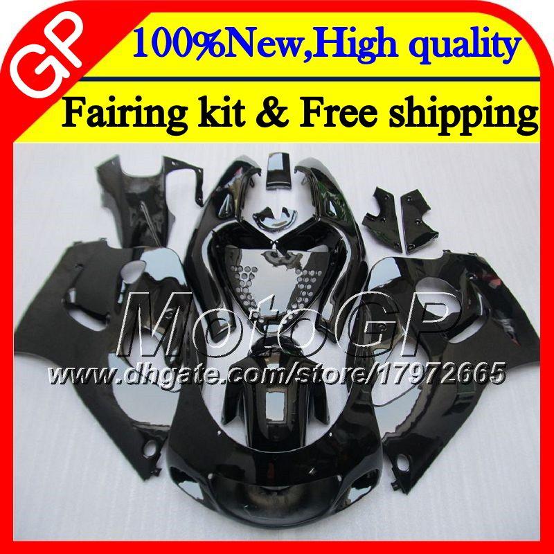 Body For SUZUKI SRAD GSXR 600 750 96 GSXR750 96 97 98 99 00 20GP10 GSX-R600 Gloss black GSXR600 1996 1997 1998 1999 2000 Motorcycle Fairing