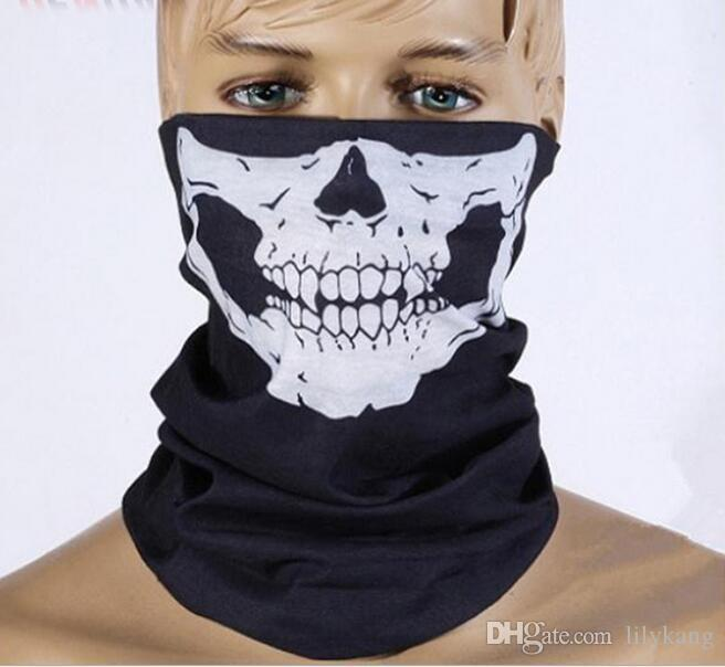 Kühler Schädel Bandana Fahrradhelm Hals Gesicht Paintball Ski Sport Stirnband neue Art und Weise gute Qualität der niedrige Preis Partei Haube Maske