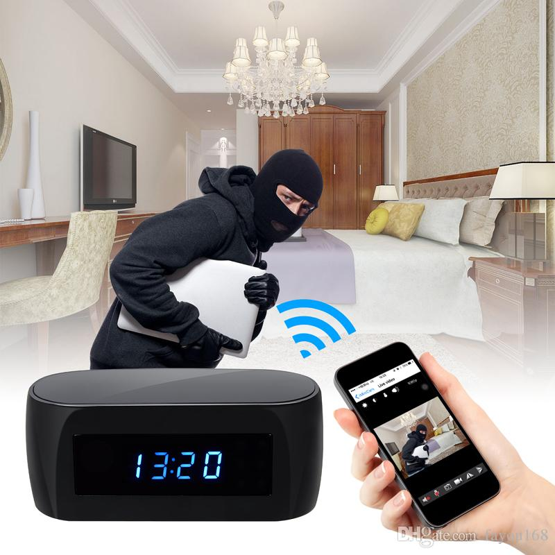 FAYOU Z16-1080P Night Vision Wireless Remote Network Electronic Clock WIFI Camera IP P2P Cam Baby Monitor Serveillance On Smart Phone or PC