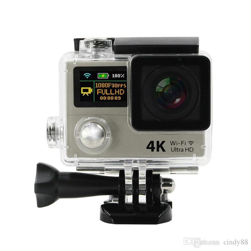 Ultra 4K Sports Camera H3R H3 WIFI Sports Action Camera 2.0 inch Dual Screen Waterproof SPCA6350 170 Degree Angle Helmet Camera
