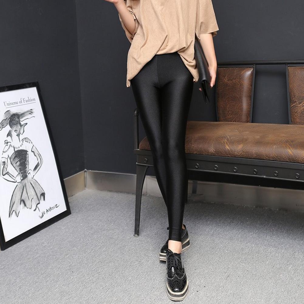 2017 Леди push up тонкий леггинсы мода новый стиль черный женские брюки лето осень тонкий тощий леггинсы брюки Женские