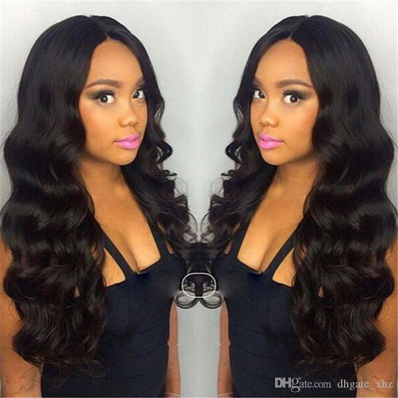 Human Hair Wig Top Quality Full Lace Wig Lace Front Wigs With Baby Hair Wholesale Price Body Wave Human Hair Wigs