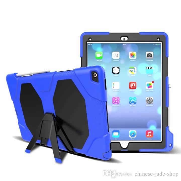 Military Heavy Duty ShockProof Rugged Impact Hybrid Tough Armor Case For IPAD MINI Galaxy Tab T350 T280 T290 T377 T387 T710 100PCS/LOT
