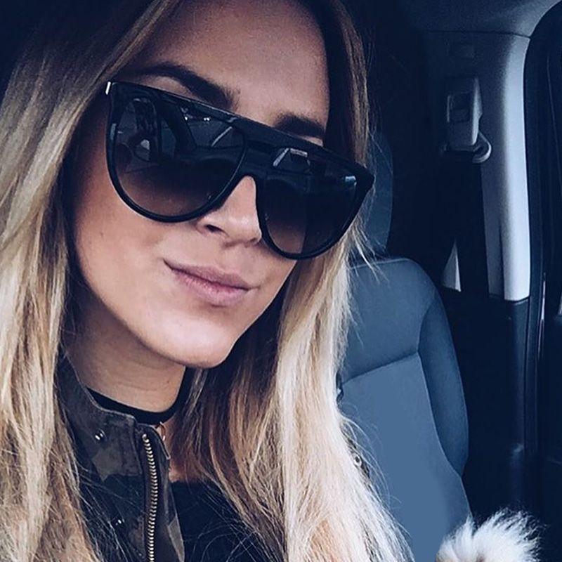 All'ingrosso ROYAL RAGAZZA 2017 Acetato Shaded lente di marca occhiali da sole d'epoca sottile ombra Occhiali Uomini ss050