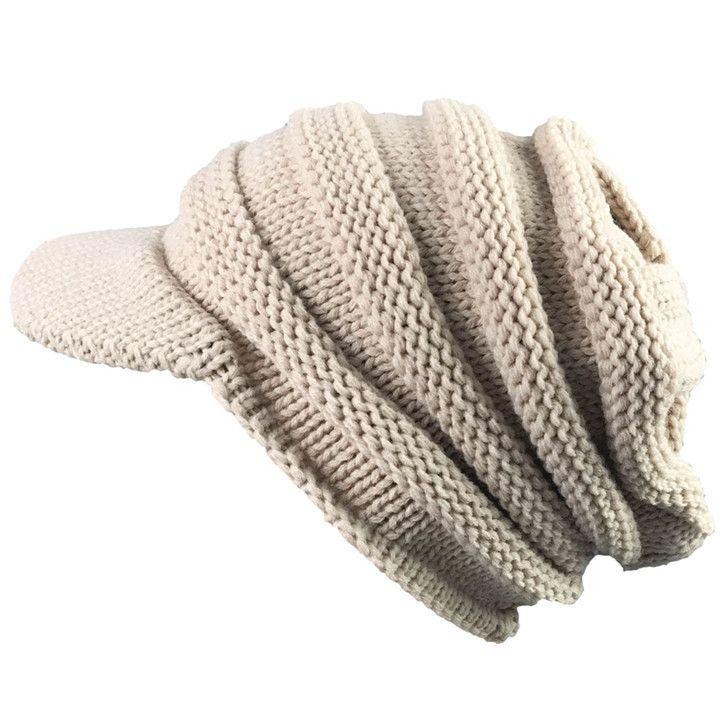 Atractivo Patrón De Crochet Boina Slouchy Embellecimiento - Ideas de ...