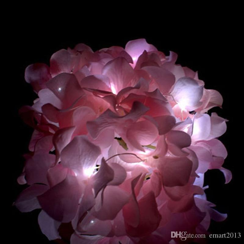 Il trasporto libero 15pcs / lot 20 luci della stringa del LED ha incluso la lampada operata delle lampade di fata per la decorazione di cerimonia nuziale del partito di natale di natale