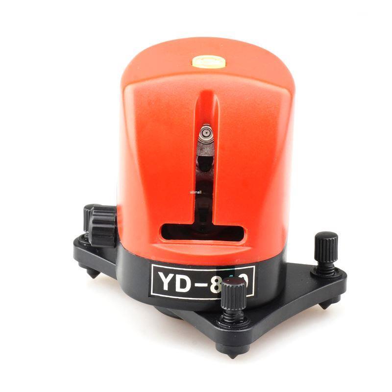 Freeshipping 2 Linhas de Nível de Laser Vermelho Auto-nivelamento Cruz Níveis A Laser Horizontal Vertical 635nm 1V1H upgrade AK32