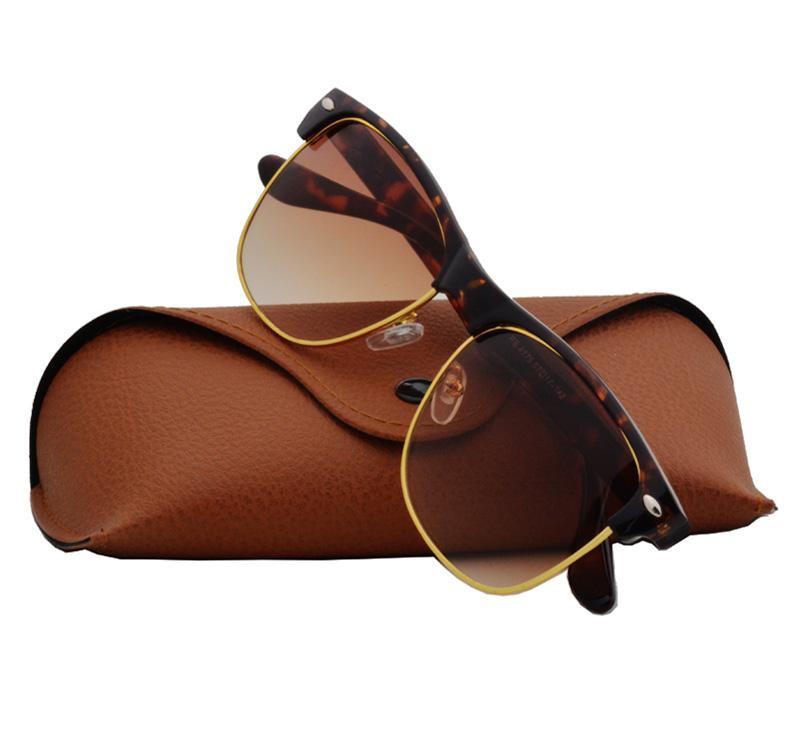 Ausgezeichnete Qualität Fashion Designer-Sonnenbrillen Halbrand Sonnenbrillen der Frauen der Männer Gold Frame UV400 Objektive mit Koffer und Box