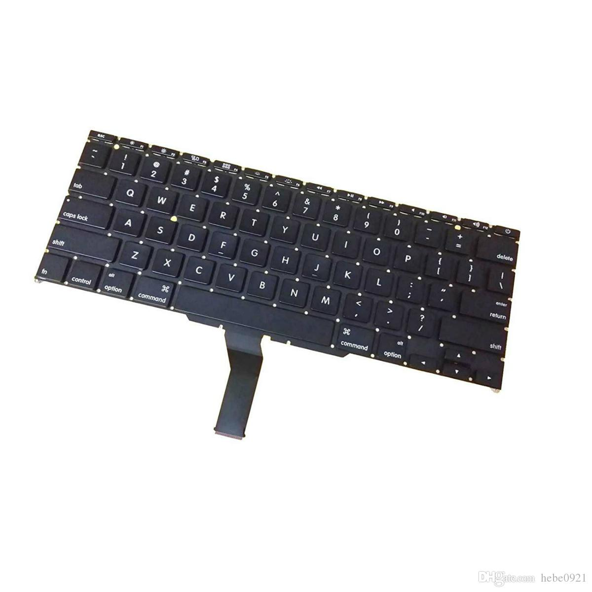 "New US Layout keyboard For Macbook Air 11"" A1370 MC968 MC969 2011 A1465 MD223 MD224 2012 year Laptop"