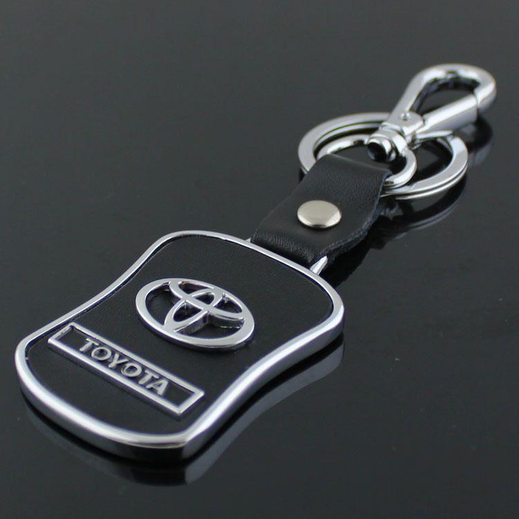 Fashion Metal Fashion Metal Car Logo Keychain Key Chain Keyring Key Ring For Toyota