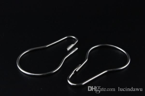 Metal aksesuarlar kabak tipi kanca Metal kanca halka pin havlu dispaly raf tavan ekran sistemi