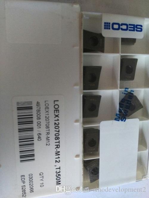 10PCS SEC CARBIDE INSERT LOEX120708TR-M 12 T350M