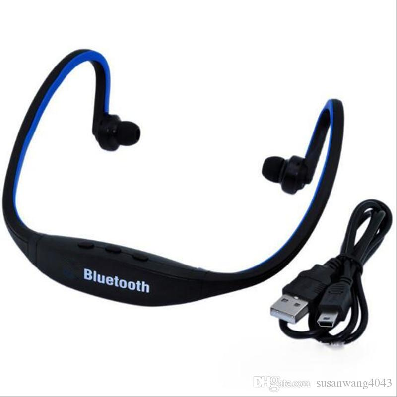 Stereo Neck Bluetooth Earphones Sports Headset Wireless Earbuds Headphone Hifi Music Player For Iphone Mobile Phone Usz055 Best Earbuds For Cell Phones Bluetooth Earbuds For Cell Phones From Susanwang4043 5 32 Dhgate Com