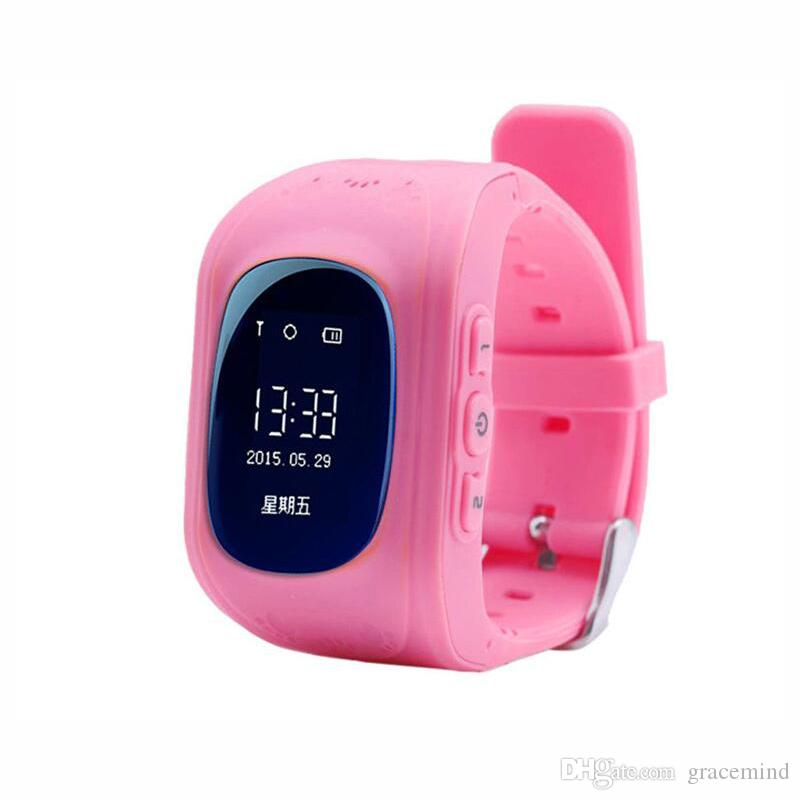 Smartwatch Smart Phone Watch Children Kid Wristwatch with OLED Screen GPS Tracker Smart Watchs Anti-Lost Wearable Devices
