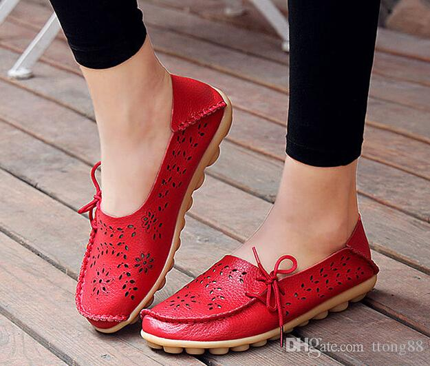 Womens Casual Shoes Genuine Leather
