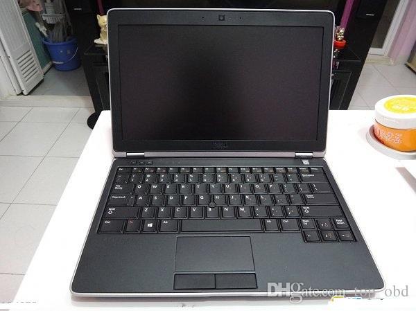 Utilizzato per Dell e6220 computer diagnostico i5,4g con 320 hdd con carica adatta programmatore chiave alldata mitchell ck100 sbb autp