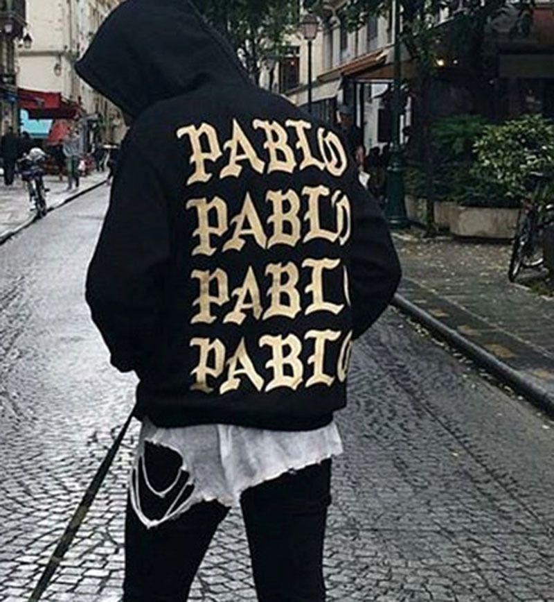 codice promozionale 20848 d3d21 Acquista Fear Of God Pablo Kanye Felpa Con Cappuccio Da Uomo Hip Hop Pull  Paris Opening Season 3 Jacket Tour Felpa Tuta Di Alta Qualità Brand I Feel  ...